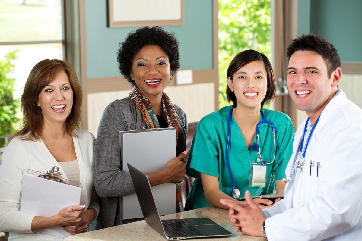 Caring Medical Staff
